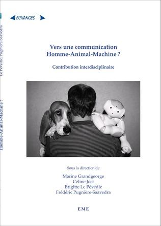 Couverture Vers une communication Homme-Animal-Machine ?