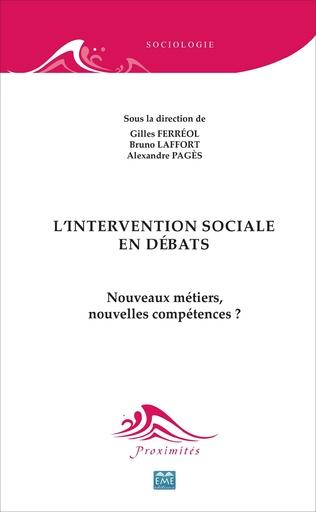 Couverture L'intervention sociale en débats