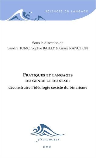 Couverture Pratiques et langages du genre et du sexe :