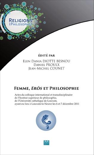 Couverture Femme, <em>erôs</em> et philosophie