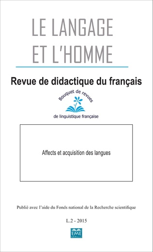 Couverture Affects et acquisition des langues