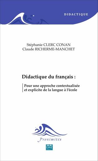 Couverture Didactique du français :
