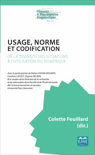 Couverture Usage, norme et codification