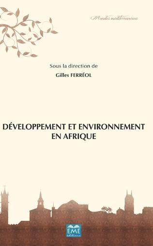 Couverture Développement et environnements en Afrique