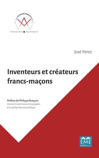 Couverture Inventeurs et créateurs francs-maçons