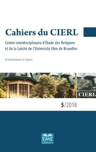 Couverture Cahiers du CIERL 5