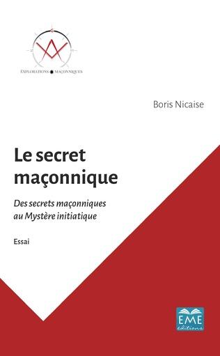Couverture Le secret maçonnique