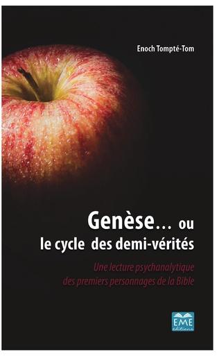 Couverture Genèse... ou le cycle des demi-vérités