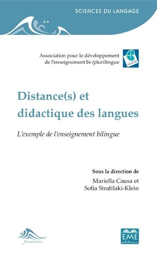 Couverture Distance(s) et didactique des langues