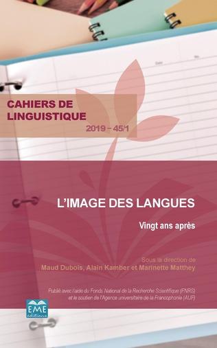 Couverture L'image des langues