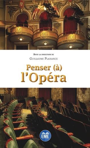 Couverture Penser (à) l'Opéra