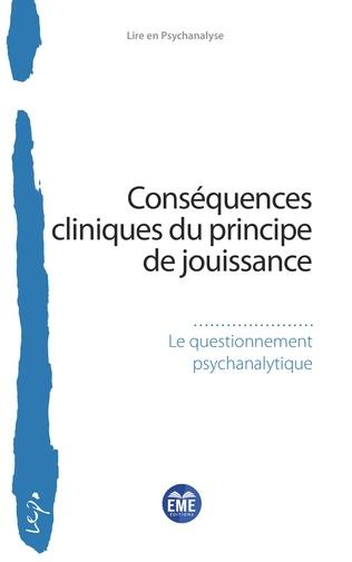 Couverture Conséquences cliniques du principe de jouissance