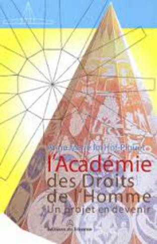 Couverture L'Académie des droits de l'Homme