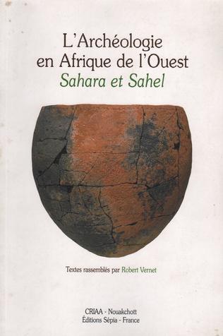 Couverture L'ARCHEOLOGIE EN AFRIQUE DE L'OUEST