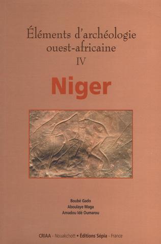 Couverture ÉLÉMENTS D'ARCHÉOLOGIE OUEST-AFRICAINE IV