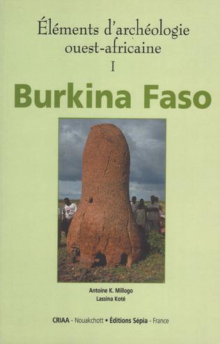 Couverture ÉLÉMENTS D'ARCHÉOLOGIE OUEST-AFRICAINE I