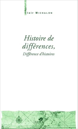 Couverture Histoire de différences