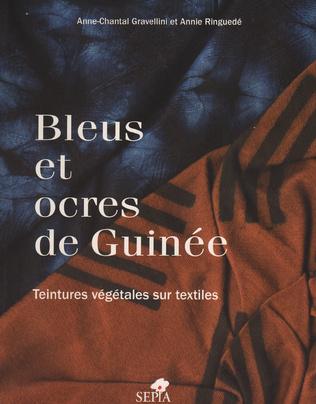 Couverture Bleus et ocres de Guinée