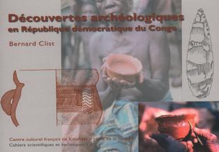 Couverture DÉCOUVERTES ARCHÉOLOGIQUES EN RÉPUBLIQUE DÉMOCRATIQUE DU CONGO