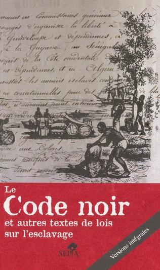 Couverture Le Code noir
