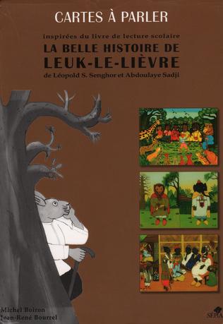 Couverture Cartes à parler iInspirées du livre de lecture scolaire La belle histoire de Leuk-le-Lièvre