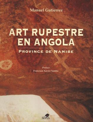 Couverture Art rupestre en Angola / Arte rupestre em Angola
