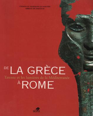 Couverture DE LA GRÈCE À ROME