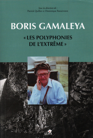 Couverture BORIS GAMALEYA