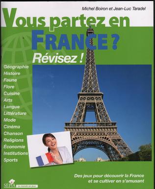 Couverture VOUS PARTEZ EN FRANCE ?