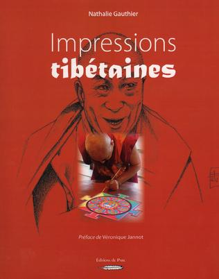 Couverture Impressions tibétaines