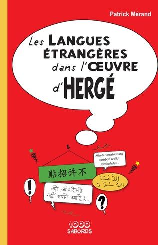 Couverture LES LANGUES ETRANGERES DANS L'OEUVRE D'HERGE