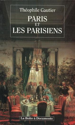 Couverture Paris et les parisiens