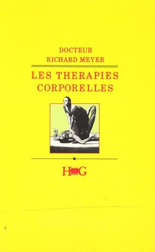 Couverture Les thérapies corporelles