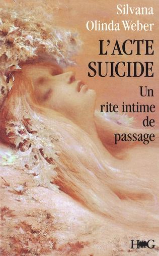 Couverture L'acte suicide