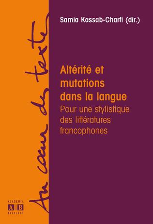 Couverture Altérité et mutations dans la langue