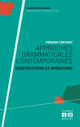 Couverture Approches grammaticales contemporaines