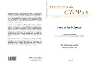 Couverture Jung et les sciences