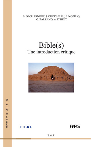 Couverture Bible(s)