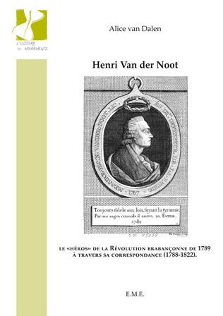 Couverture Henri Van der Noot