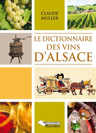 Couverture Dictionnaire des vins d'Alsace
