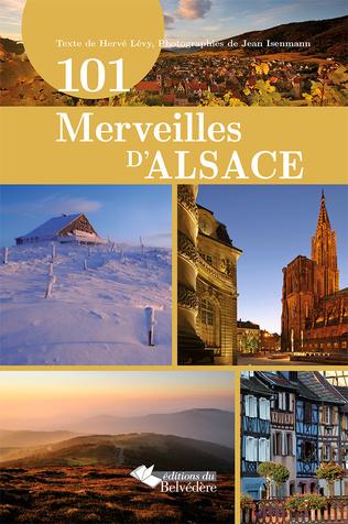 Couverture 101 merveilles d'Alsace