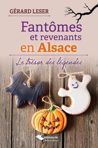 Couverture Fantômes et revenants en Alsace