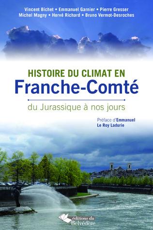 Couverture Histoire du climat en Franche-Comté