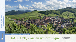 Couverture L'Alsace, évasion panoramique