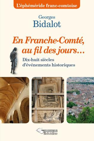 Couverture En Franche-Comté au fil des jours