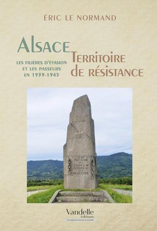 Couverture Alsace , territoire de résistance