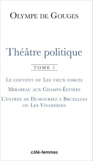 Couverture Théâtre politique (Tome 1)