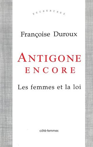 Couverture Antigone Encore