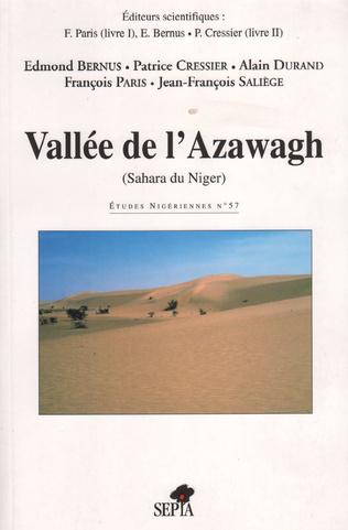 Couverture VALLÉE DE L'AZAWAGH