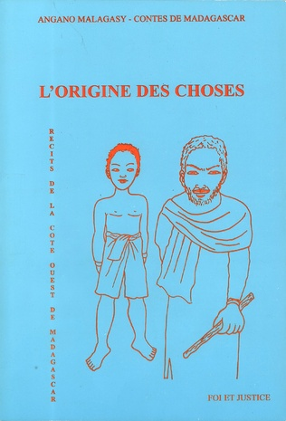 Couverture L'origine des choses